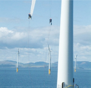 maintenance of offshore wind farms in Europe